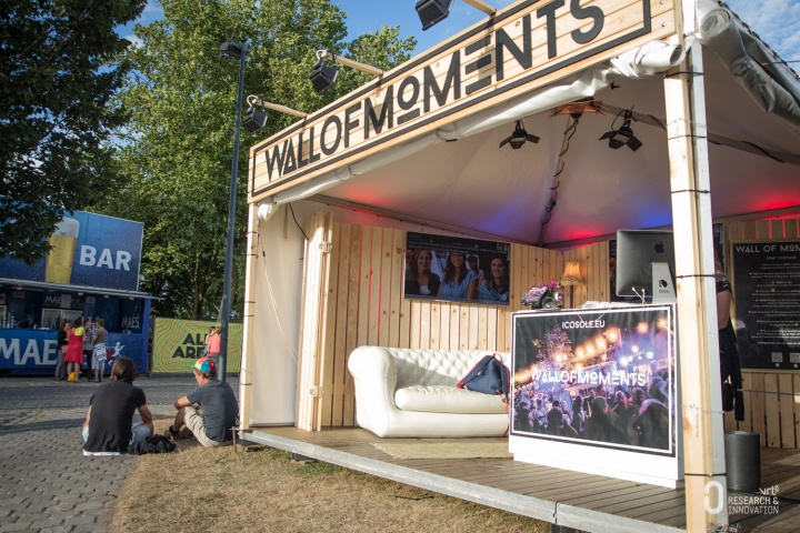 Wall Of Moments op Leffingeleuren 2016