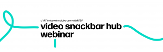 Video Snackbar Hub Webinar Logo